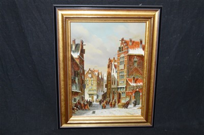 Lot 81-Pieter Cornelis Steenhouwer oil painting