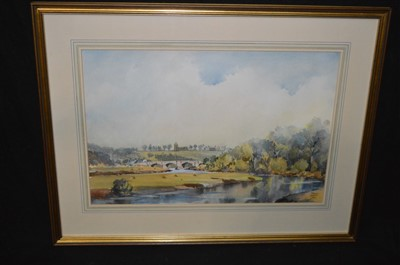 Lot 46-Fred Stott watercolour