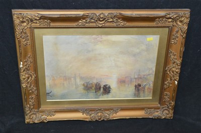 Lot 64-After J* M* W* Turner watercolour