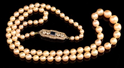 Lot 71-Pearl Necklace