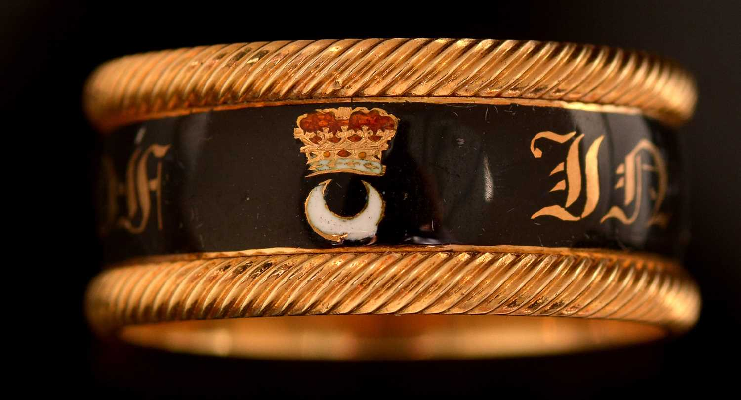Lot 128-Duke of Northumberland mourning ring