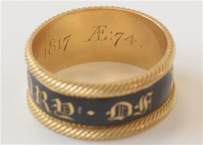 Lot 128-Duke of Northumberland mourning ring
