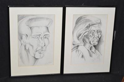 Lot 52-20th Century British School drawings
