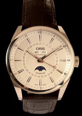 Lot 10-An Oris Artix gent's stainless steel wristwatch.