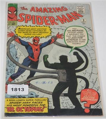 Lot 1813 - Amazing Spider-Man No. 3. comic.