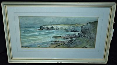 Lot 574-Thomas Swift Hutton watercolour