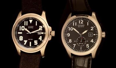 Lot 9-Two Citizen Eco-Drive wristwatches