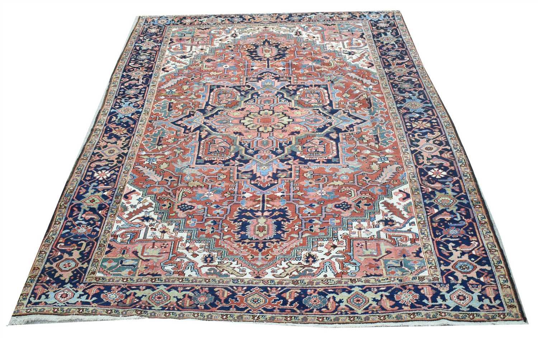 Lot 919-Heriz carpet