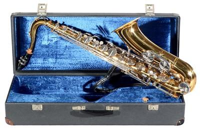 Lot 162 - Muller tenor saxophone cased