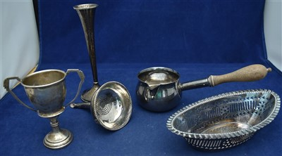 Lot 27-Silver items