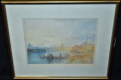 Lot 568-After J* M* W* Turner watercolour