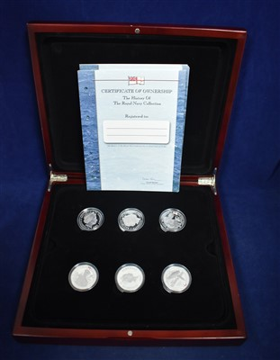 Lot 71-Silver proof coin set