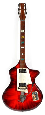 Lot 174-1960's Wandre Spazial Guitar