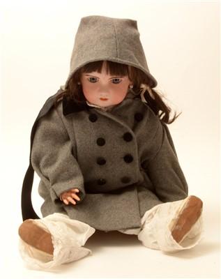 "Lot 1202 - A bisque-head doll ""Tete Jomeau""."