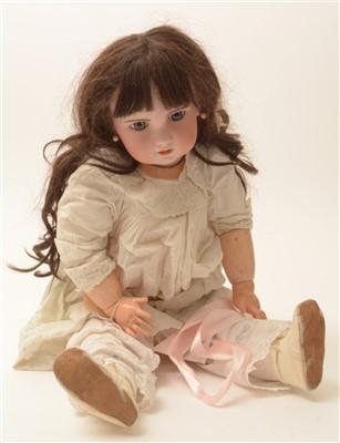 "Lot 1202-A bisque-head doll ""Tete Jomeau""."