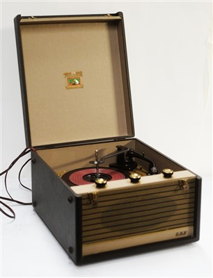 Lot 42 - An HMV mono record player