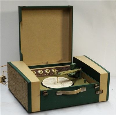 Lot 43 - A Philips stereophonic portable record player.