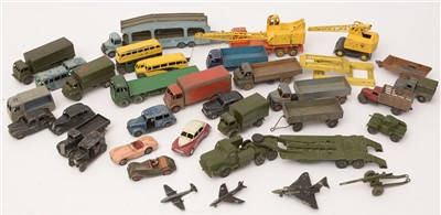 Lot 1250 - Dinky eight-wheel truck and other vehicles.