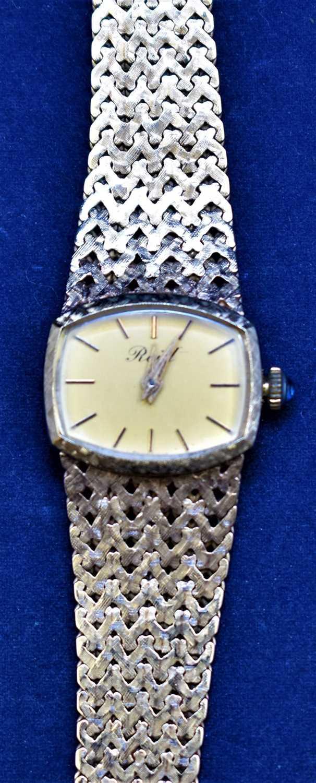 Lot 10-9ct gold wristwatch