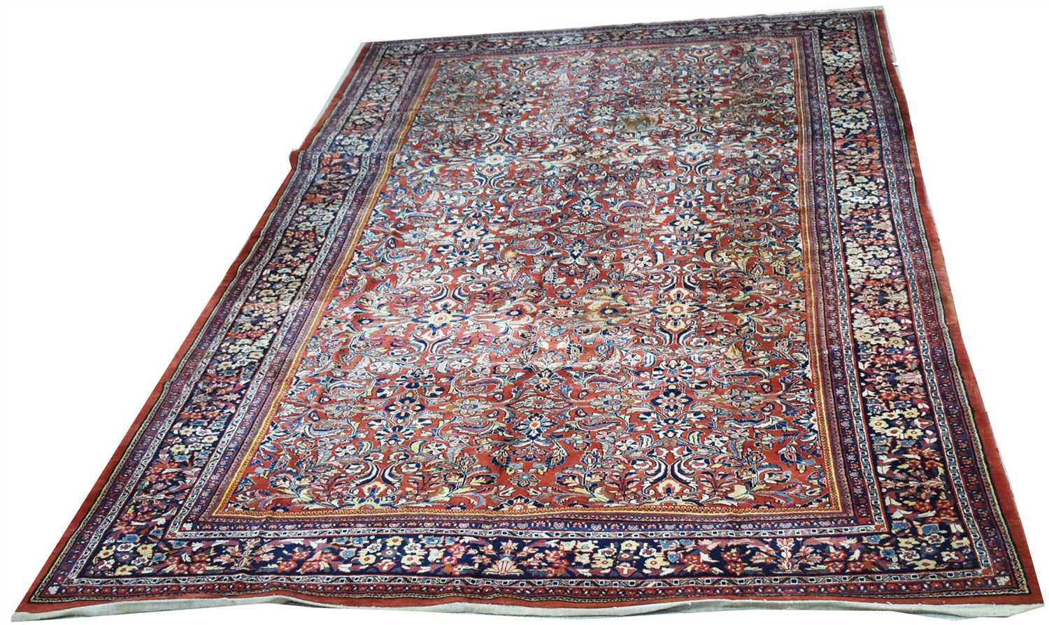 Lot 928-Farahan carpet