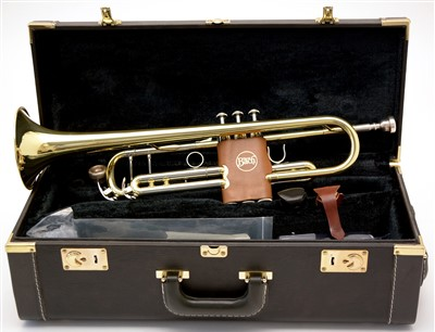 Lot 25 - Yamaha YTR 6336H Trumpet and case.