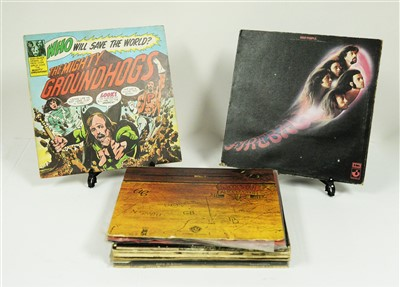 Lot 281-Rock and Metal LPs