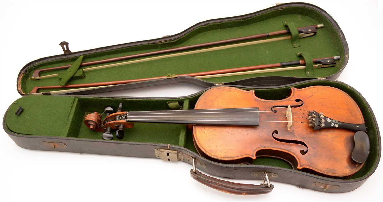 Lot 133 - Stradivari copy Violin