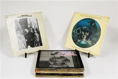 Lot 311-Folk LPs