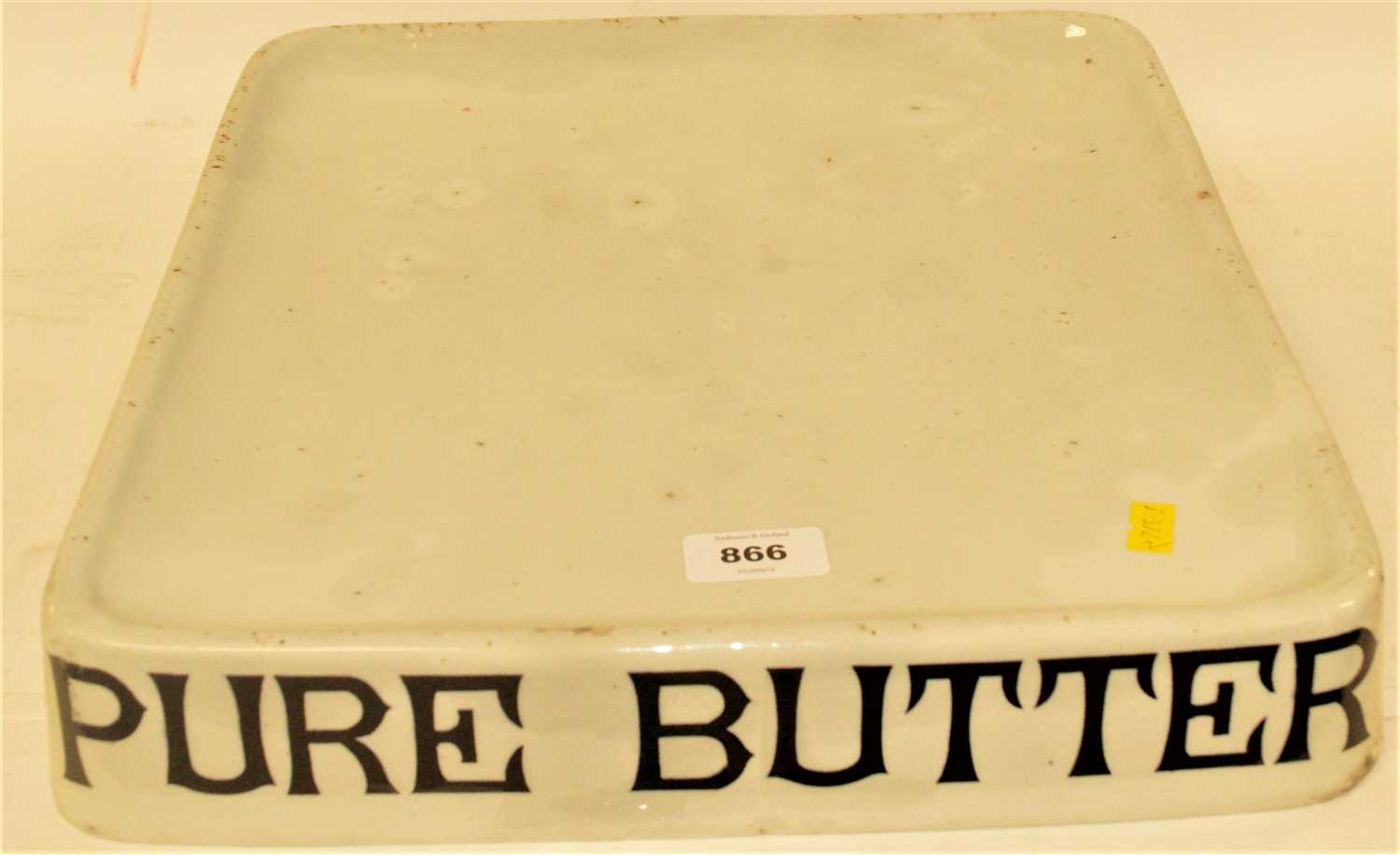 Lot 866-Pure Butter dish