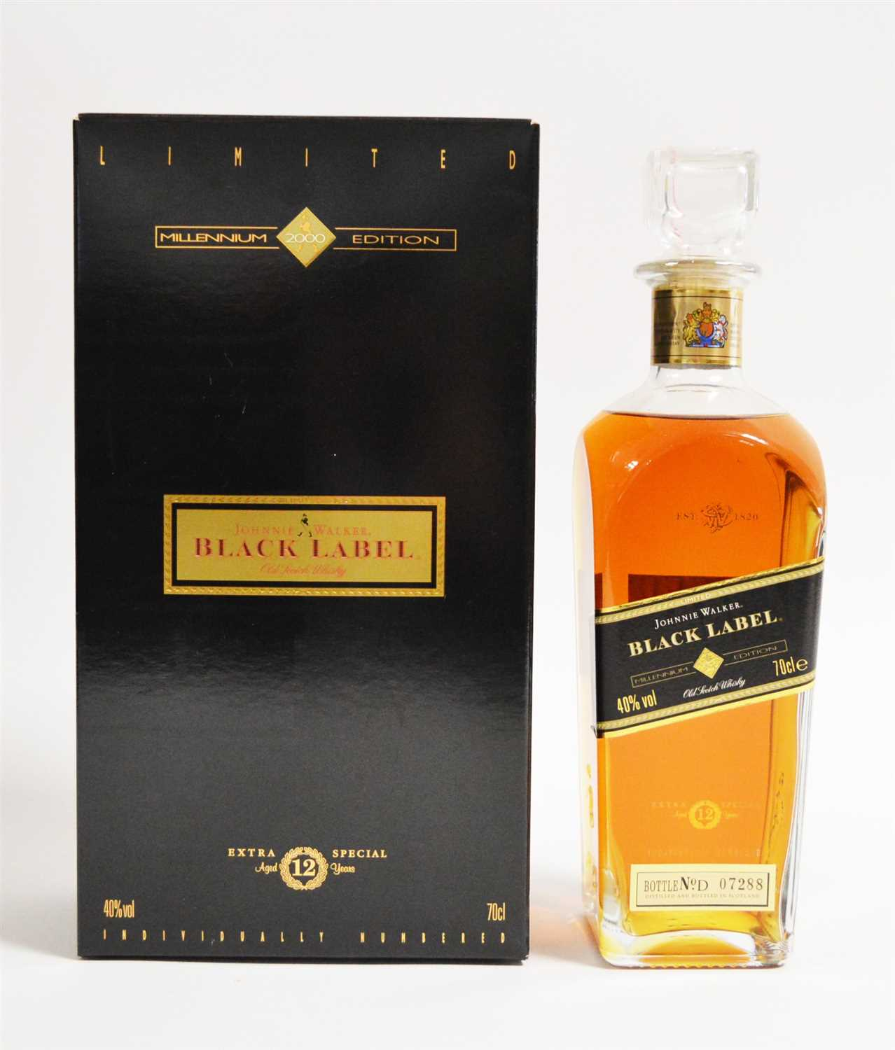 Lot 350-Johnnie Walker Millennium Edition
