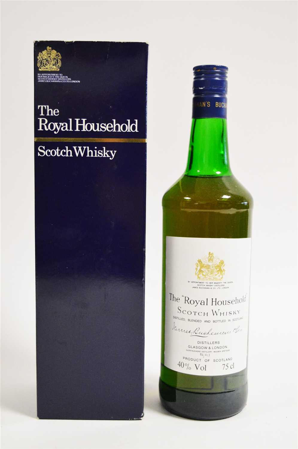 Lot 351 - Royal Household Whisky