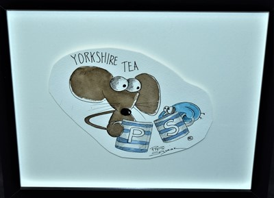 "Lot 634-Michelle Campbell - ""Yorkshire Tea, Pip n Squeak"",..."