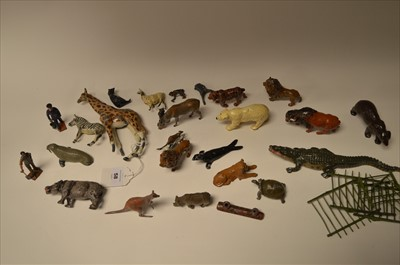 Lot 1206-Britains zoo