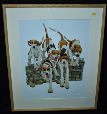 Lot 505-Mary Ann Rogers print