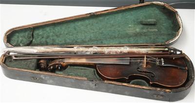 Lot 94A - Continental Violin