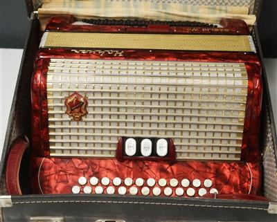 Lot 72A - Hohner Gaelic IV accordion