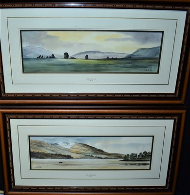 Lot 567-Digby Page watercolours
