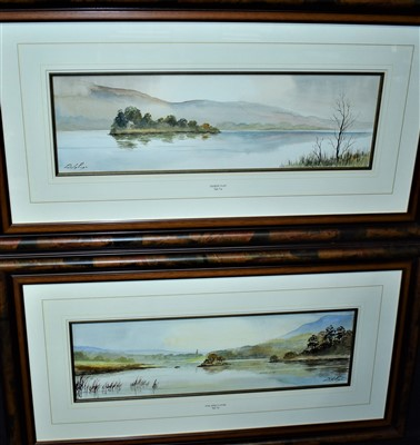 Lot 566-Digby Page watercolours