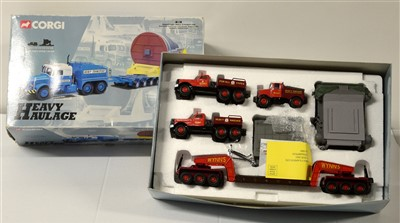 Lot 1259 - Limited edition die-cast model vehicles by Corgi.