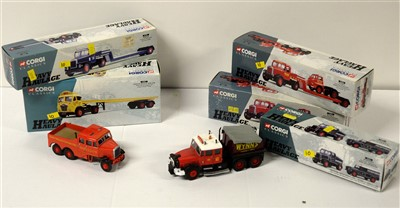 Lot 1261 - Limited edition die-cast model vehicles by Corgi.