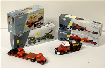 Lot 1262 - Limited edition die-cast model vehicles by Corgi.