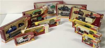 Lot 1268 - Limited edition die-cast model vehicles by Corgi.
