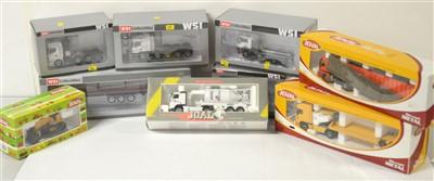Lot 1300 - Die-cast model road haulage vehicles.