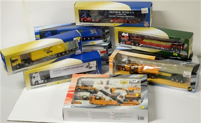Lot 1302 - Die-cast model road haulage vehicles by Cararama.