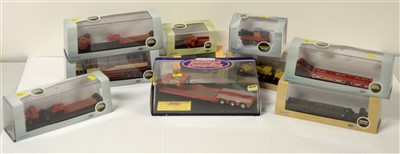 Lot 1303 - Die-cast model road haulage vehicles by Oxford.