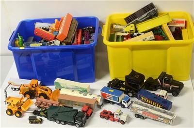 Lot 1296 - Die-cast model road haulage vehicles.