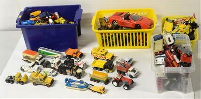 Lot 1297 - Die-cast model road haulage vehicles.