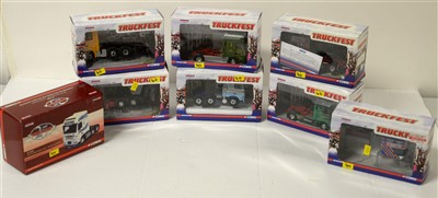 Lot 1282 - Limited edition die-cast model road haulage vehicles by Corgi.