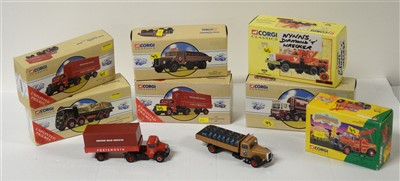 Lot 1287 - Die-cast model road haulage vehicles