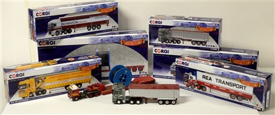 Lot 1289 - Die-cast model road haulage vehicles by Corgi.